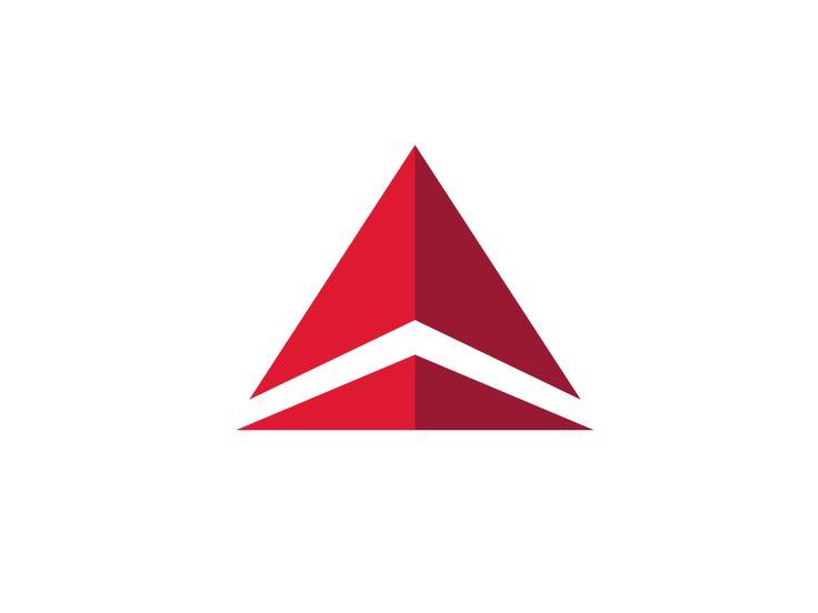 Crossfit triangle logo