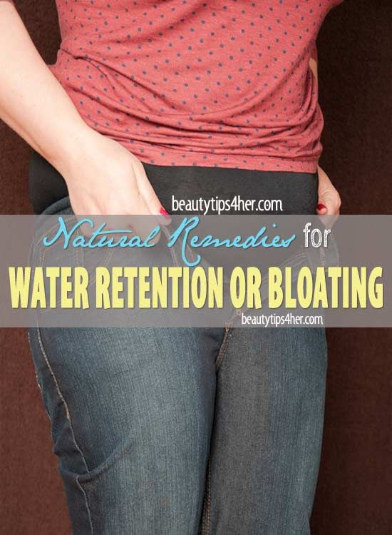 Effective Home Remedies for Water Retention or Bloating | Beauty and MakeUp Tips