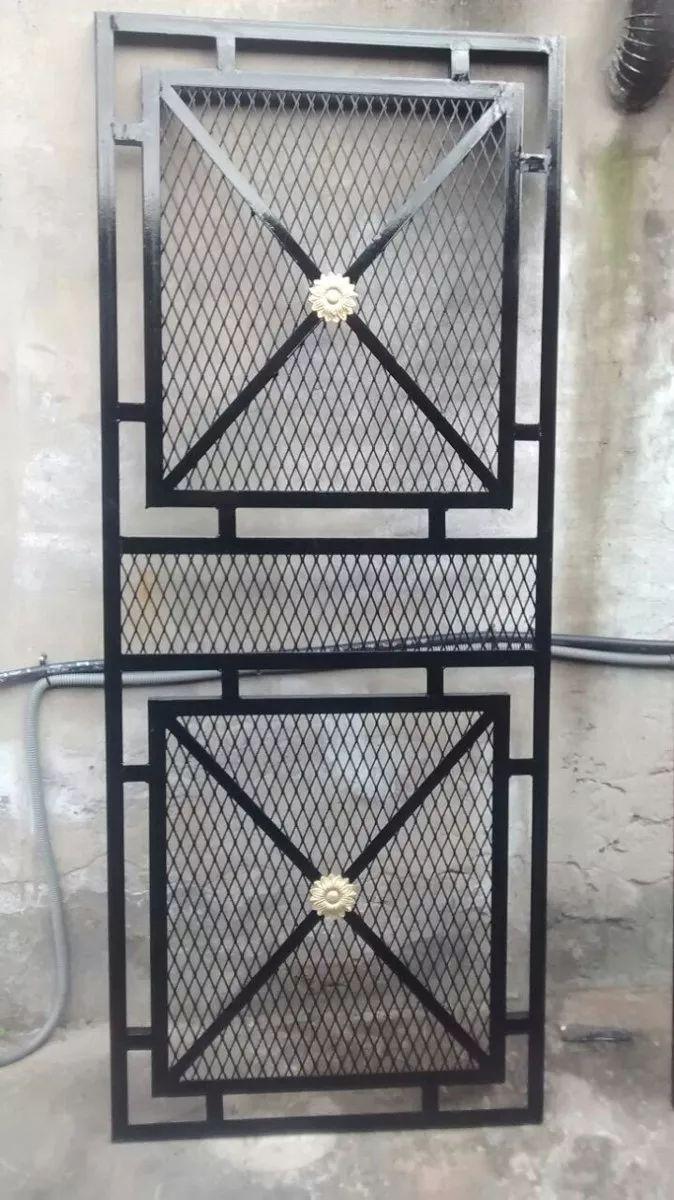 puerta reja de malla