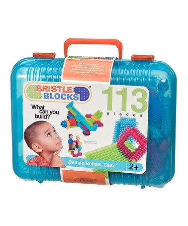 Take a look at this Big Bristle Block Set by Battat on #zulily today!