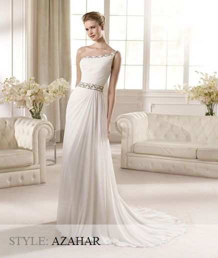San Patrick Wedding Gown - Fashion Collection 2013 - Azahar