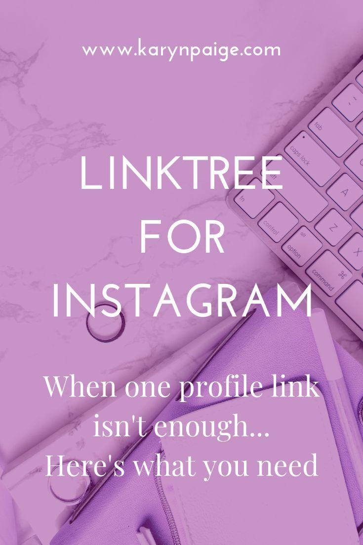 Linktree for instagram when one link isnt enough