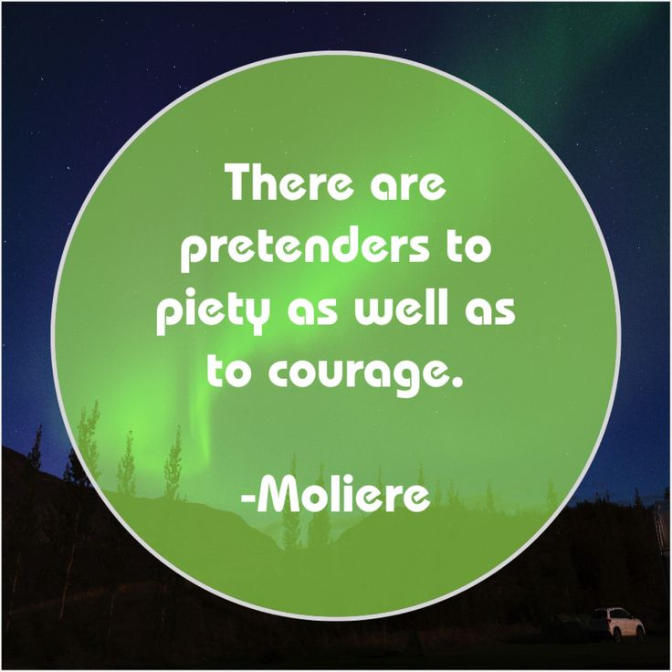 Moliere There are pretenders to piety Viral quotes