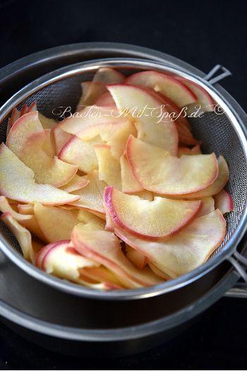 Apfelrosen - Rezept