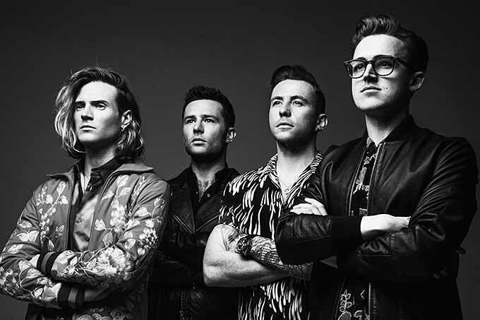 McFly tour Anthology