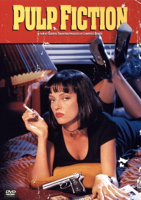 Pulp Fiction: Tempo de Violência, Um filme de Quentin Tarantino e produzido por Lawrence Bender com John Travolta, Samuel L. Jackson e Uma Thurman. Os caminhos de vários criminosos se cruzam nestas três histórias de Quentin Tarantino. Um pistoleiro se apaixona pela mulher de seu chefe, um boxeador não se sai bem em uma luta e um casal tenta executar um plano de roubo que foge do controle.