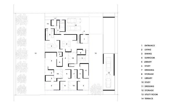 住宅の設計 百楽荘の家 箕面
