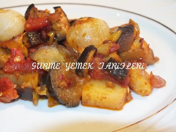 Fırında Sebzeli Tava