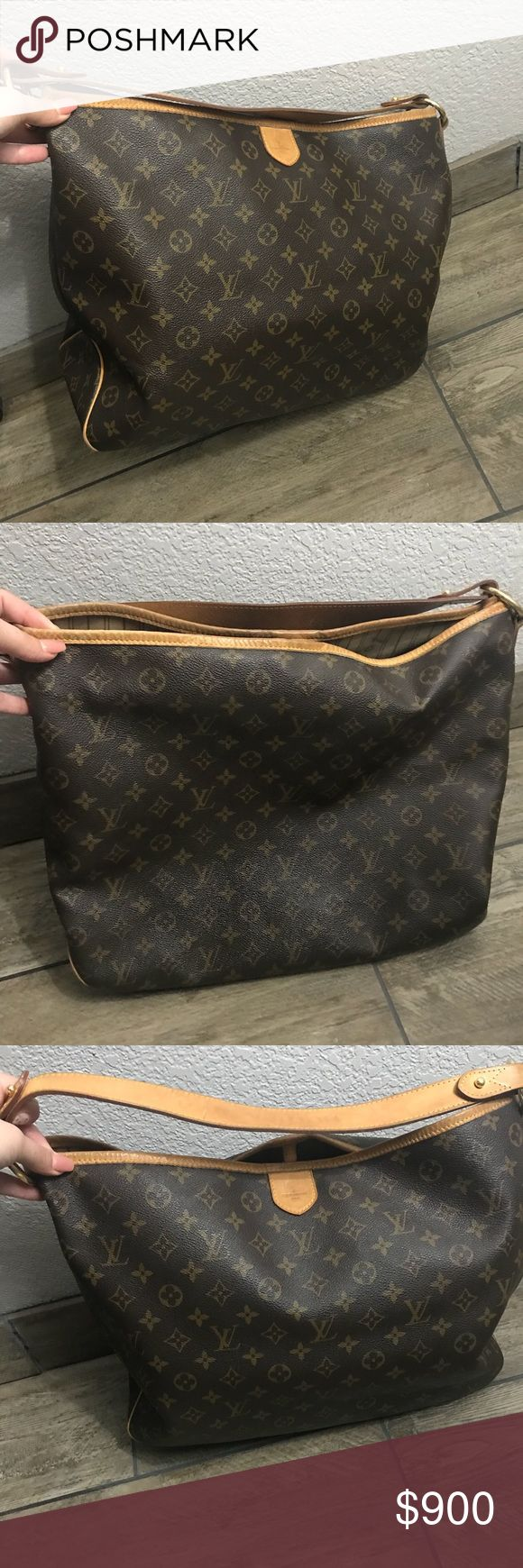 Louis Vuitton Monogram Delightful MM 100% Authentic, purchased at the Louis Vuitton store located in the South Coast Plaza Mall in Costa Mesa CA.  Condition: Good Comes with Box and dust bag  Receipt not included Louis Vuitton Bags Shoulder Bags