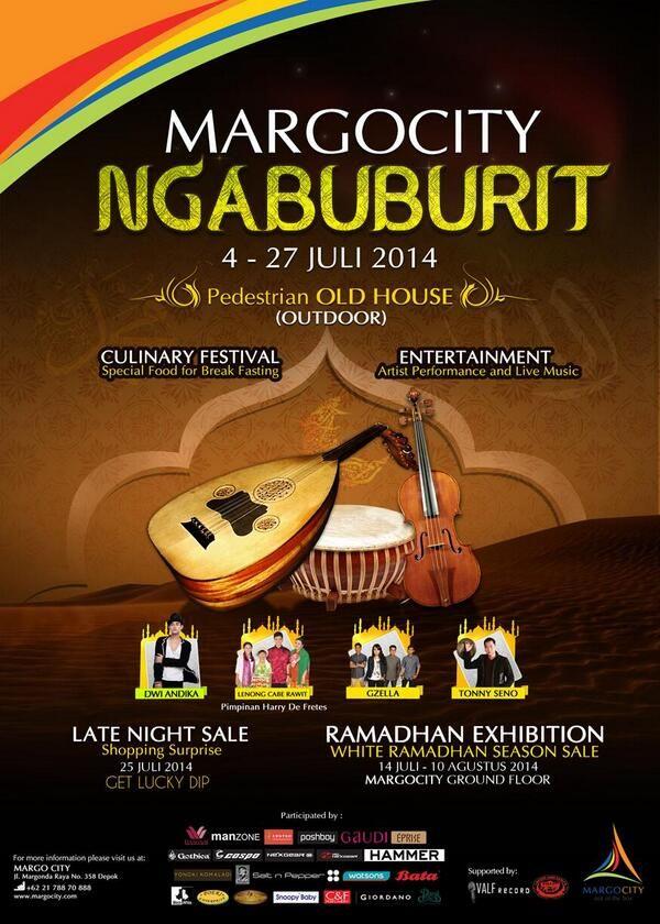 Ngabuburit, 4 - 27 Juli Di Margo City