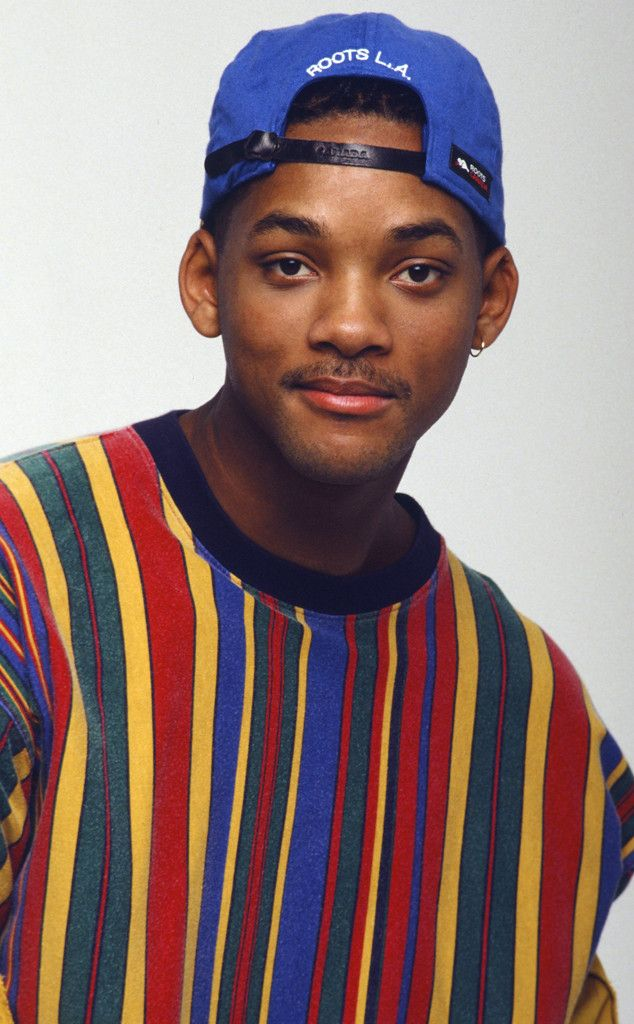Will's Got the Blues from Will Smith's Craziest Looks on The Fresh Prince of Bel-Air  Primary colors were SO Will's jam.