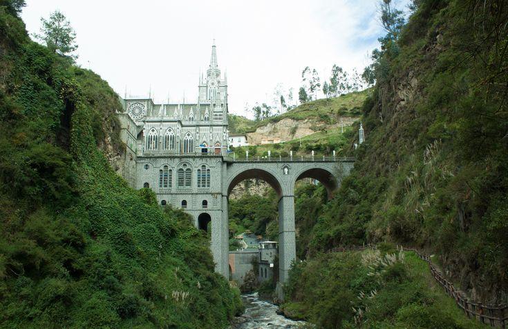 https://flic.kr/p/ynE3Kv | Santuario de las lajas - Templo 2