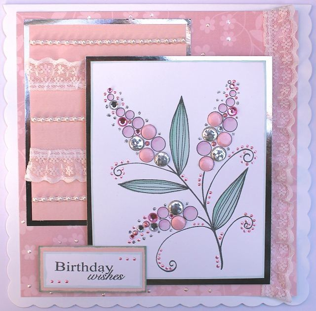 Bubble Bloom Michelle Clear Stamp