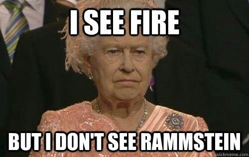 Even the Queen like Rammstein!