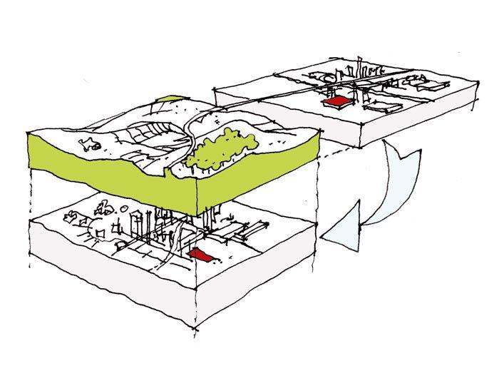 les petites maisons sous la prairie - tinchebray (61) - vladimir doray, vincent saulier architectes