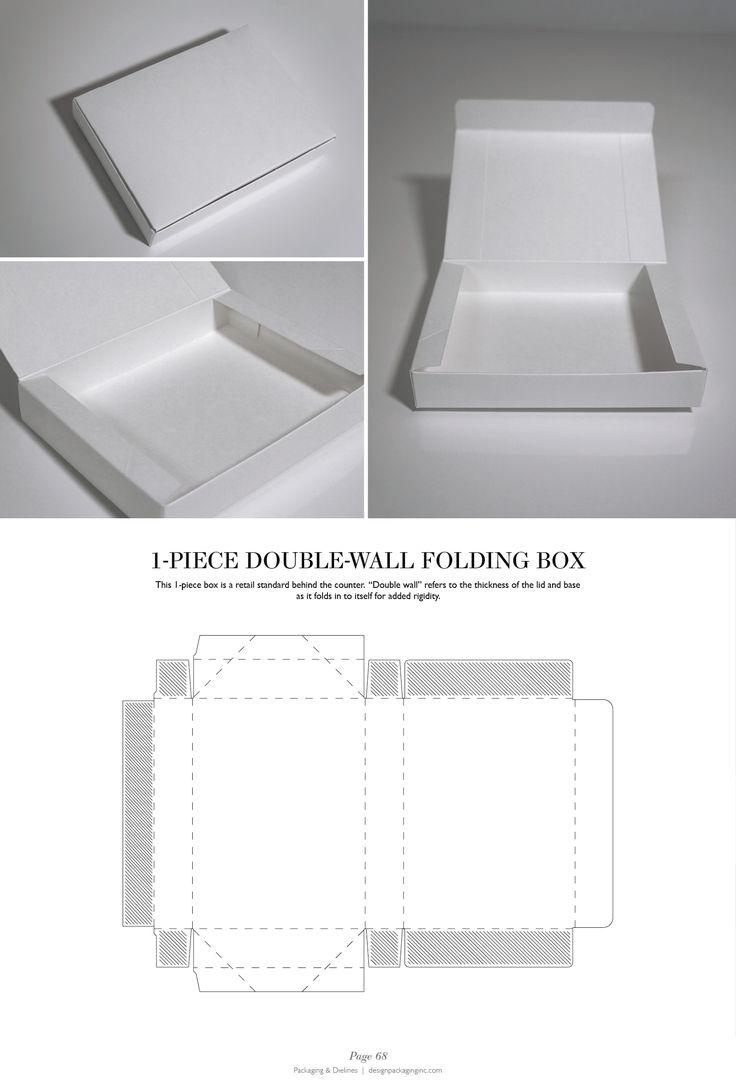 1-Piece Double-Wall Folding Box PD