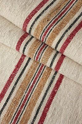 WEFTWARP — Vintage European linen grain sack ...
