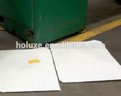 100% PP white oil absorbent pad,adjustable oil absorbent pad