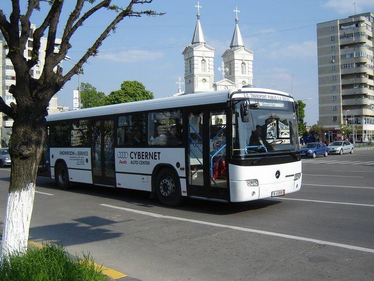 Orasul Bacau, Romania.
