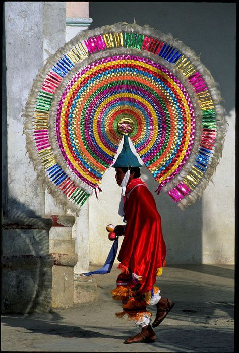 Dance of the Quetzals  . Puebla, Mexico ""