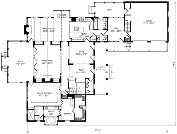 Sabine river cottage john tee architect southern for Southern exposure house plans