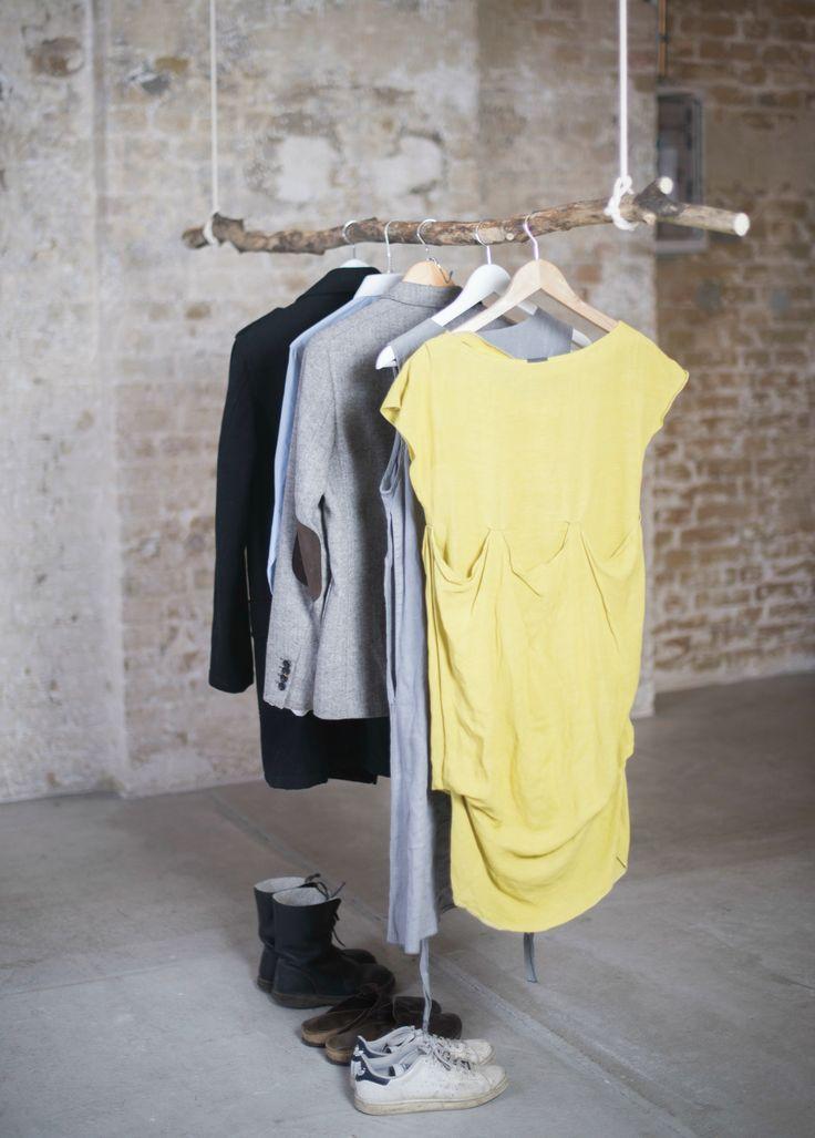 DIY Kleiderstange, Baumstamm, Shopvorstellung Ekomia http://lifestylemommy.de/diy-kleiderstange-zum-selber-machen-shopvorstellung-ekomia-und-giveaway/
