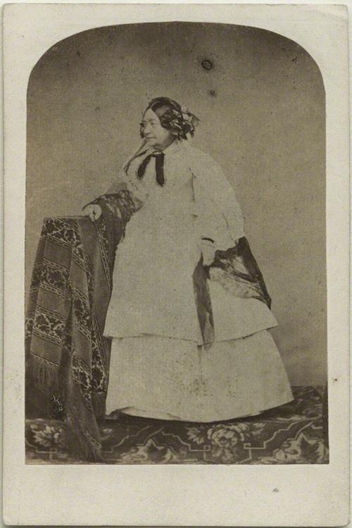 Queen Victoria's mother; Victoria, Duchess of Kent.