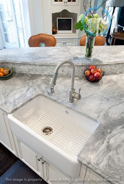 17 Best Images About White Countertops Marble Com On