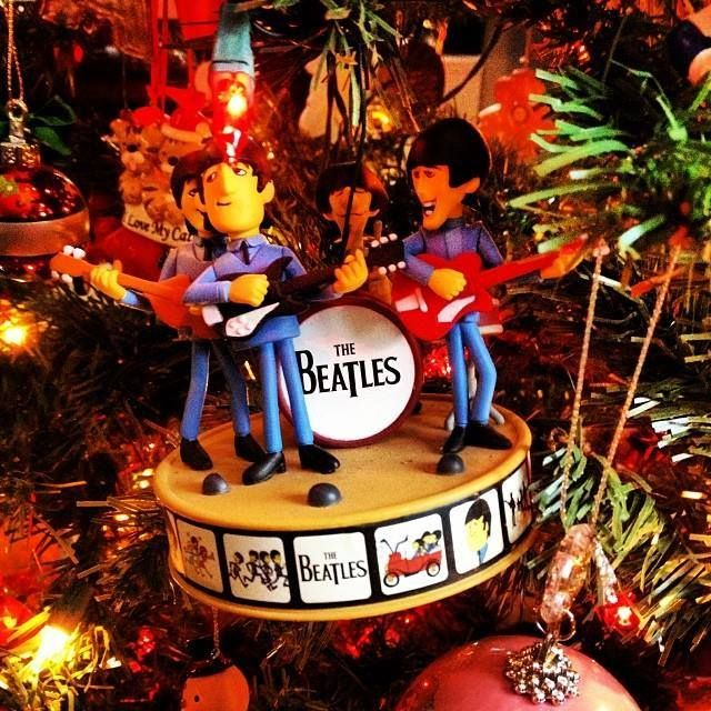 Gracing Your Tree Christmas Tree Ornaments The Beatles Christmas Ornaments