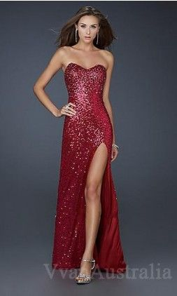 Oh my, the red dress I've always wanted