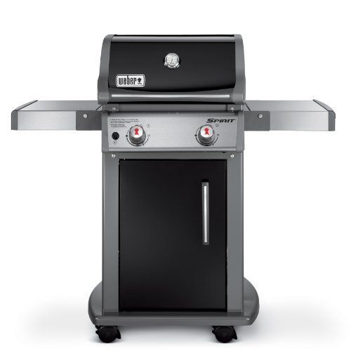 Weber 46110001 Spirit E210 Liquid Propane Gas Grill, Black
