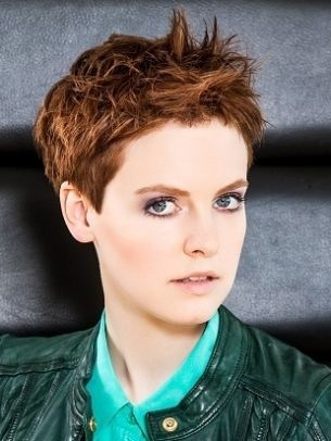 pixie hairstyle 2013...maybe I should try styling mine like this!