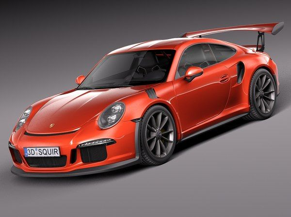 Sports Car 3d Models For Download Turbosquid Porsche 911 Models Car 3d Model Porsche