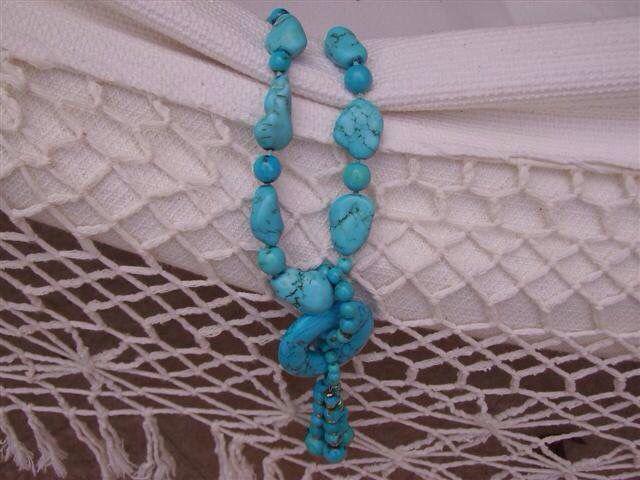 Una mia collana di turchese