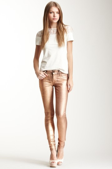 copper glow skinny jean | sinclair denim coe.