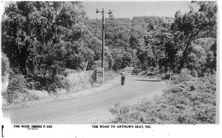 The Road to Arthurs Seat