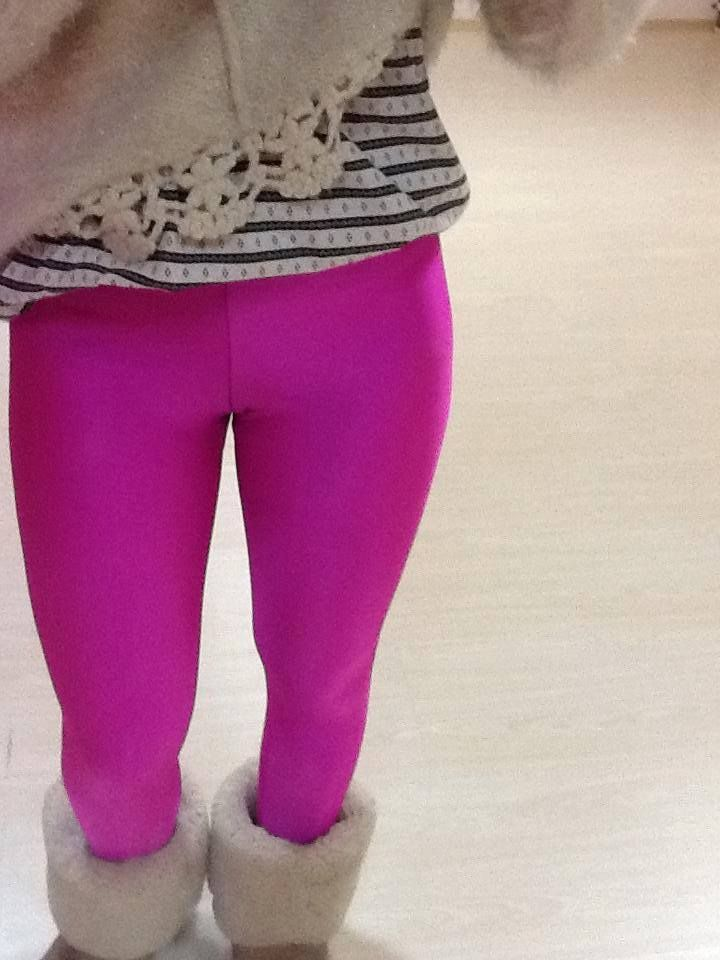 magenta leggings