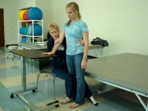 Facilitating Sit to Stand - YouTube
