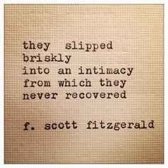 F Scott Fitzgerald love quotes