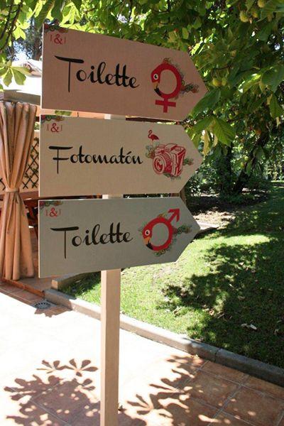 """Identidad visual de la boda inspirada en la tipografía del blog """"Bodas de Hoy"""" via Telva"""