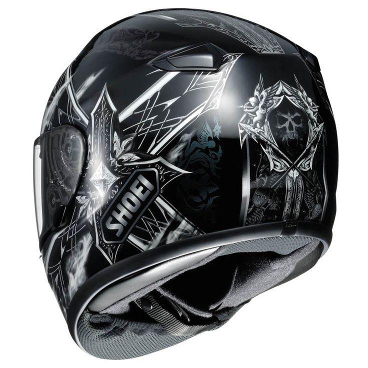 Shoei TZ-X Diabolic Feud TC-5 - Limited Edition | The Helmet Warehouse