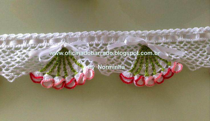 OFICINA DO BARRADO: Croche - Um NOVO BARRADO da Norminha