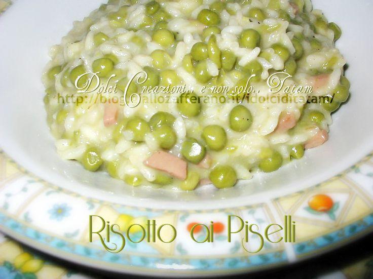 Risotto ai Piselli   ricetta