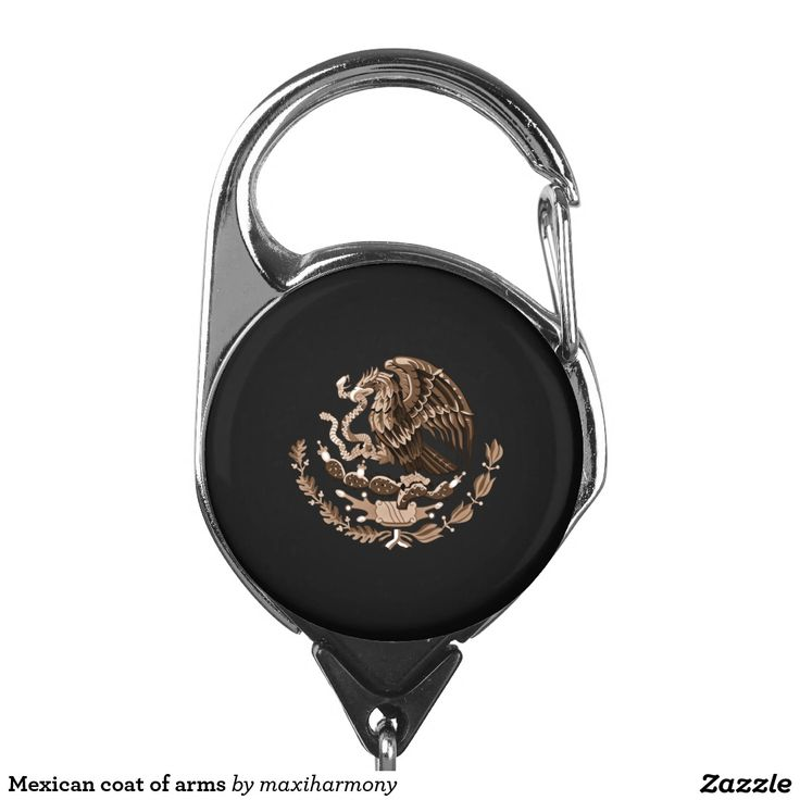 Mexican coat of arms badge holder
