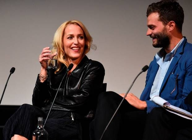 Gillian Anderson and Jamie Dornan join The Fall cast for launch party