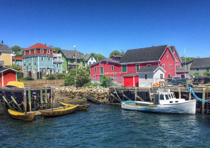 Nova Scotia's South Shore traces part of the Lighthouse Route, and there's one area in particular well worth the trip: historic Lunenburg and Mahone Bay.