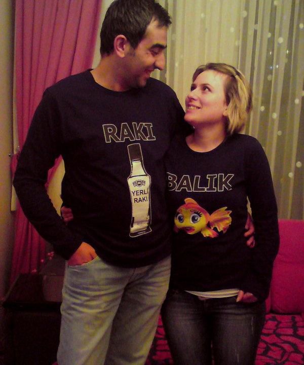 Rakı Balık Tişört  #fish #raki #turkish #tshirt