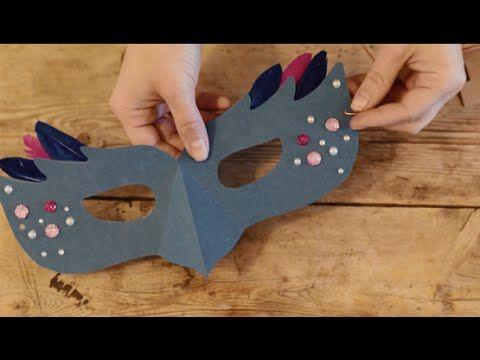 DIY: Masquerade masks by Søstrene Grene