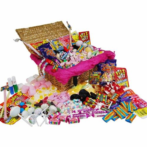 Personalised Retro Sweet Hamper  from Personalised Gifts Shop - ONLY £34.99