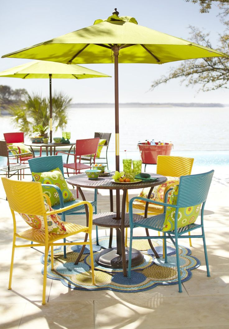 Let Us Show You Our Colorful Ideas For Transforming An Outdoor Space With Pier 1 Outdoor Furniture
